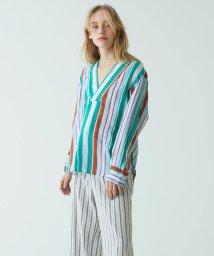 MACPHEE/ラミー スキッパーシャツ/500857891