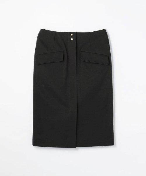 MACPHEE(MACPHEE)/コットンジャージー Iラインスカート/12058105703