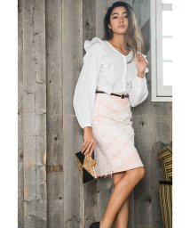 Millon Carats/レースレイヤードタイトスカート[DRESS/ドレス]/500855450