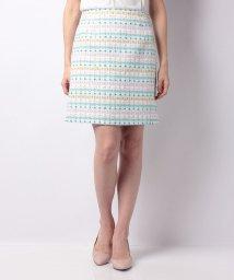 ELISA/【セットアップ対応商品】マルチカラーツィードスカート/500823679