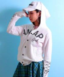 ANAP GiRL/袖スピンドル刺繍フーディブルゾン/500846137