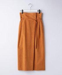 Ravissant Laviere/人工皮革スエードスカート/500850947
