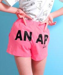ANAP GiRL/後ろロゴ裏毛ショートパンツ/500855078