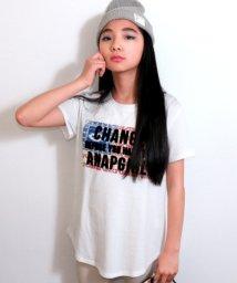 ANAP GiRL/ネイティブサガラロゴTシャツ/500855082