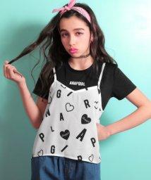 ANAP GiRL/オリジナル総柄キャミトップス&Tシャツ SET/500855084