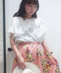 Noela/【美人百花7月号掲載】アシメフリルブラウス/500859604