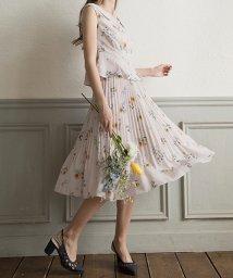 Noela/【Ray6月号掲載】【セットアップ対応商品】オリジナルヒマワリフラワー柄スカート/500859611
