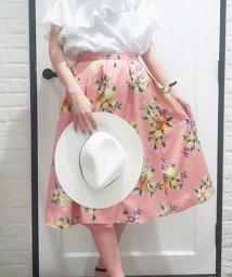 Noela/【Ray7月号掲載/美人百花6月号掲載】オリジナルボタニカルフルーツ柄スカート/500859612