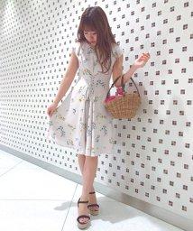 Noela/オリジナルヒマワリ柄ワンピ/500859619