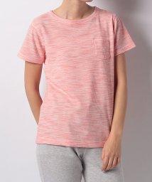 Alpine DESIGN/アルパインデザイン/レディス/胸ポケットTシャツ ワッフル杢/500861001