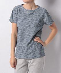 Alpine DESIGN/アルパインデザイン/レディス/胸ポケットTシャツ ワッフル杢/500861002