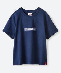 haco!/Dickies別注 ワイドボトムスと相性がいいボックスロゴTシャツ/500862551