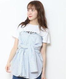Rirandture/ストラップ付抜けシャツ/500863106