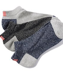 healthknit/Healthknit【ヘルスニット】星条旗柄3Pソックス(靴下3枚セット)/500863393