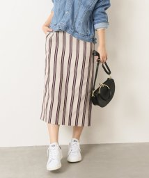 Spick & Span/ストライプタイトスカート◆/500863551