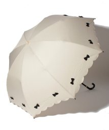 pink trick/雨晴兼用 折傘 (UVカット&軽量) カラフルリボン/500849553