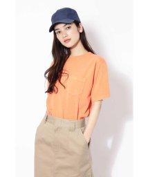 ROSE BUD/ウォッシュドシンプルTシャツ/500861447