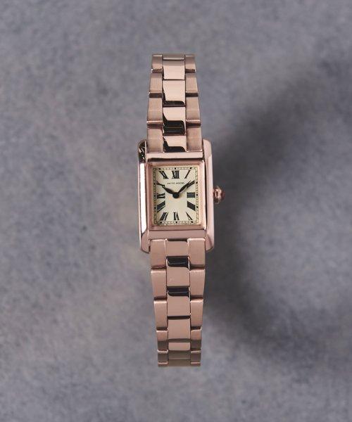 UNITED ARROWS(ユナイテッドアローズ)/UAB スクエア メタル 腕時計/17436990638