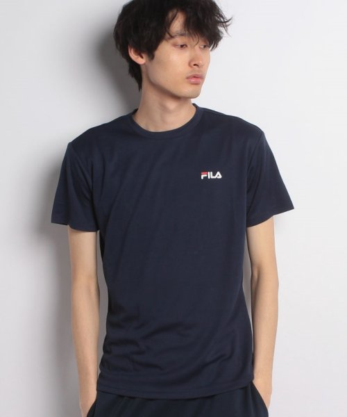 FILA(フィラ)/FILAPEメッシュ ワンポイントTシャツ/417329