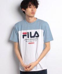 FILA/FILA切替半袖Tシャツ/500841657