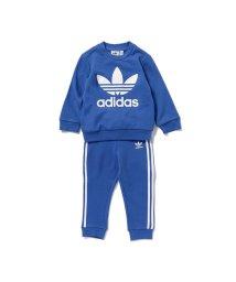 こどもビームス/adidas / オリジナルス インファント クルーネック スウェットシャツ + パンツ セット 18 (ユニセックス 80~100cm)/500867922