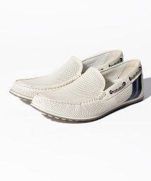 LANVIN en Bleu(mens shoes)/パンチングレザースリッポン/LB0004857
