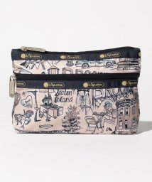 LeSportsac/COSMETIC CLUTCH ザ ボローズ カーキ/LS0019880