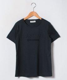 Leilian PLUS HOUSE/フロントロゴTシャツ/500822898