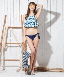 SEA DRESS/フレアキャミソール付ビキニ/3点セット水着/500868437