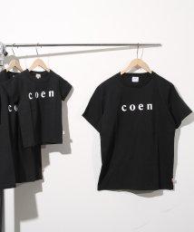 coen/【MENS】coen(コーエン)ロゴTシャツ/500869123