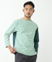 BEAMS OUTLET/BEAMS / コンビネーション ボートネックカットソー/500741248