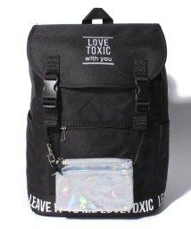 Lovetoxic/ポーチつきロゴ入りベルトリュック/500827280