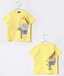 kladskap/動物3匹半袖Tシャツ/500846166