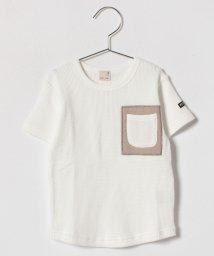 petit main/配色ポケットTシャツ/500846172