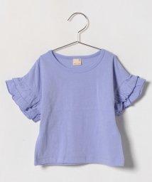 petit main/袖フリルビッグTシャツ/500846182
