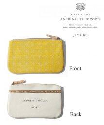 JIYU-KU /Antoinette Poisson BOTANIQUE キャンバスポーチ(検索/500870191