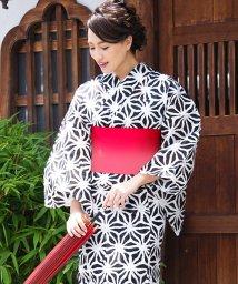 Dita/Dita【ディータ】1人で簡単に着られる作り帯の可愛い女性浴衣 4点フルセット(ゆかた・作り帯・下駄・着付けカタログ)/500870494