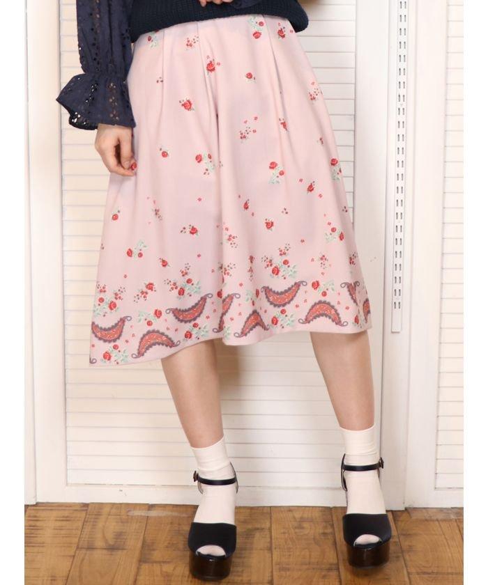 CHAPON×dazzlinフレアスカート