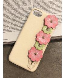 dazzlin/フラワーモチーフiphone case/500871562