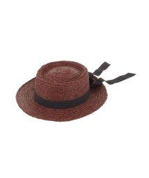 dazzlin/ラフィアバックリボンカンカン帽/500871569