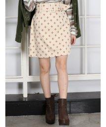dazzlin/リトルフラワー刺繍ミニスカート/500871592