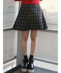 dazzlin/【non-no9月号掲載】バックルフレアミニスカート/500871678