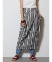 LAGUNAMOON/テクスチャーストライプラップスカート/500871983