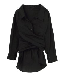 EMODA/ツイストウエストマークシャツ/500872317