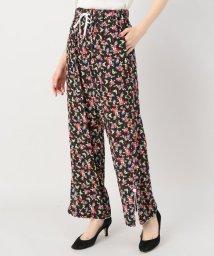 JOINT WORKS/G.V.G.V printed rayon crepe pants/500874753
