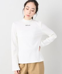 JOINT WORKS/G.V.G.V. ripley embroidery ribbed ls top/500874770