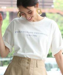 ViS/【WEB限定】ロゴTシャツ/500875762
