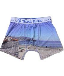 Blue Wax/BlueWax【ブルーワックス】The sea and the bridge ボクサーパンツ/500876588