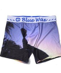 Blue Wax/BlueWax【ブルーワックス】Sunset surf ボクサーパンツ/500876596
