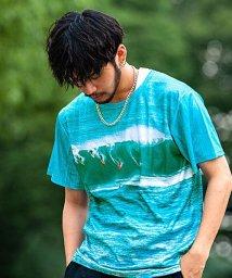 Blue Wax/BlueWax【ブルーワックス】Men of surfing クルーネックTEE(Tシャツ)/500876608